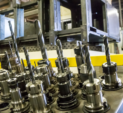 Machining Tools at Wisconsin Metal Fab